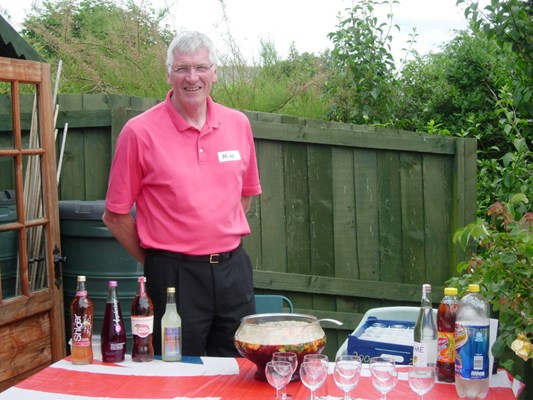 Summer BBQ in the garden - Pimms anyone?!