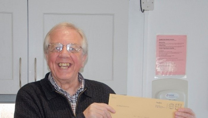 Chairman of Abbeyfield Ribble Valley Society Retires