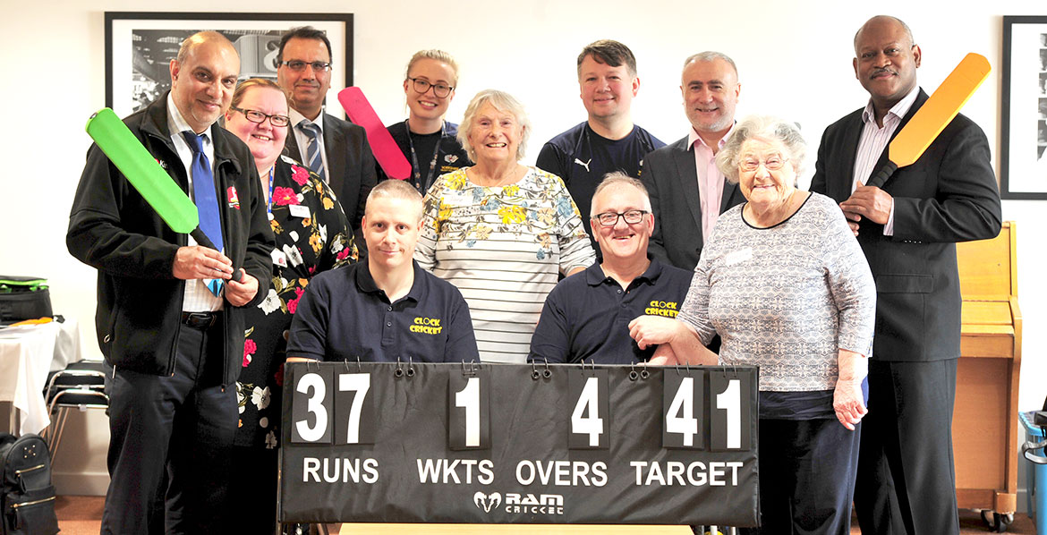 Clock cricket team and their winning score