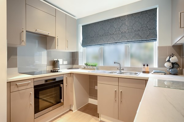 Our perfectly sized kitchens with ample room for cooking