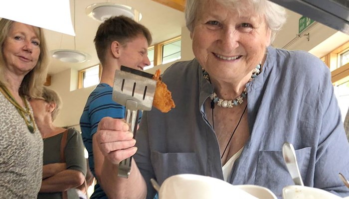 Delicious community meal brings cultures together at Girton Green house, Cambridge