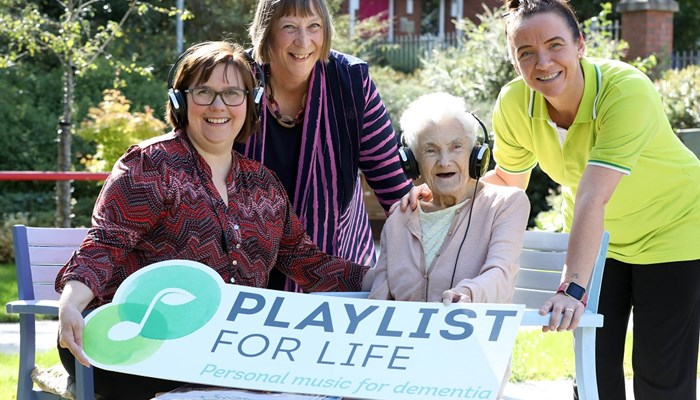 Helping residents with dementia through the power of music