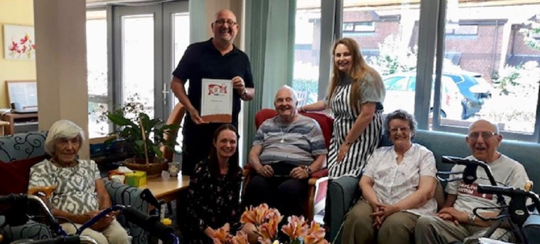 abbeyfield court awarded bronze food for life award