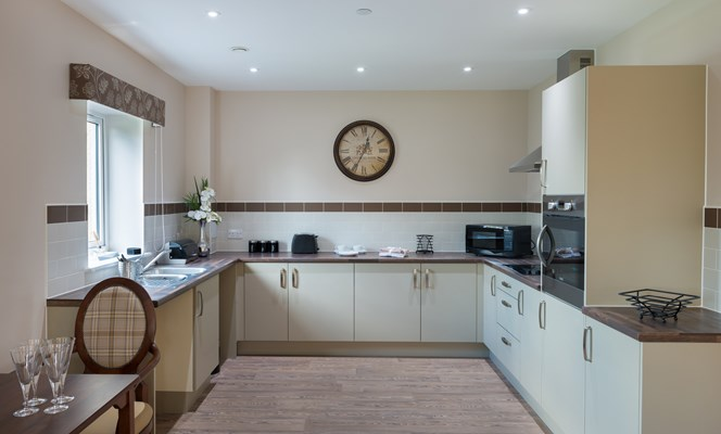 Each apartment comes with a high-spec kitchen