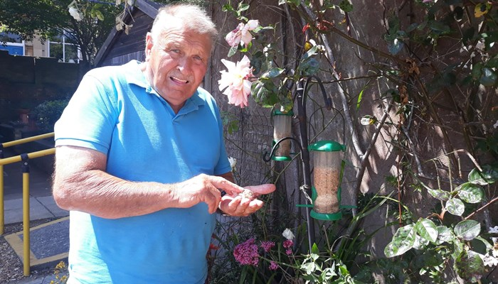 Peter's green thumbs brighten up Clifton House
