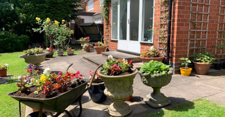 Green-fingered residents will love our garden