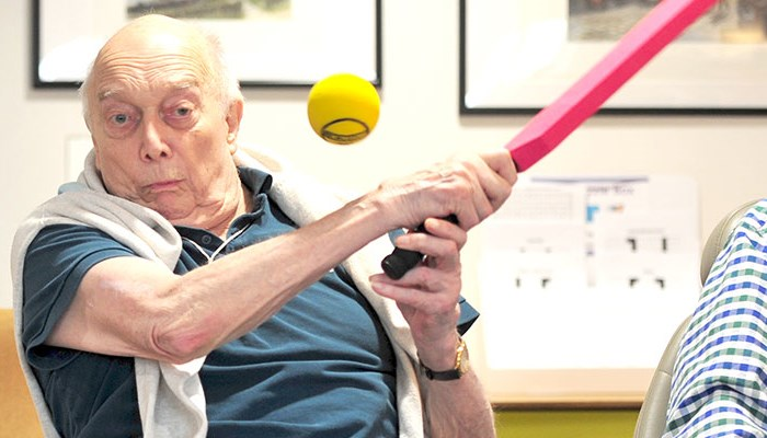 Clock Cricket proves a big hit for older people living with Abbeyfield