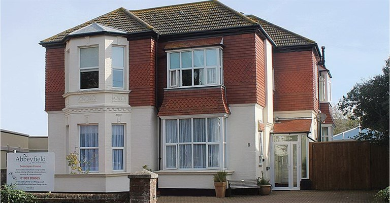 Abbeyfield House Worthing Bn11 3Ht Front 1
