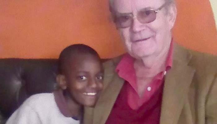 George Docker's plan to educate a young Kenyan hopeful