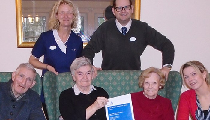 Full marks for Campbell Snowdon House, now amongst the top 2% of Care Homes in Scotland