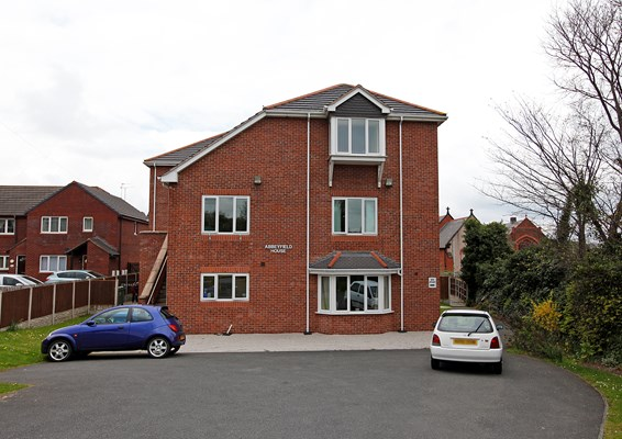 Abbeyfield House is a purpose built retirement home offering supported housing for older people