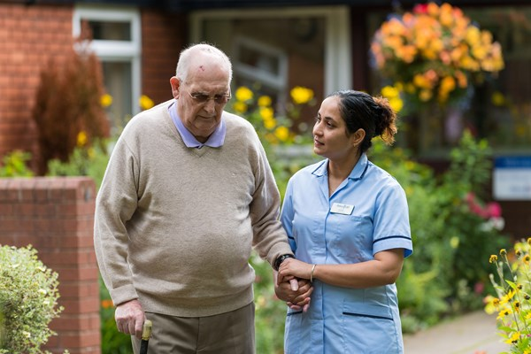 Providing outstanding care is our number one priority at Jim Gillespie House