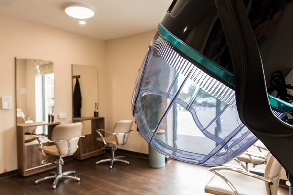 We are fortunate enough to have an in-house salon for hair-styling and pampering