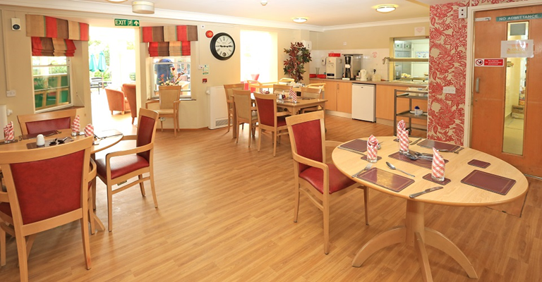 All meals are served in our communal dining room