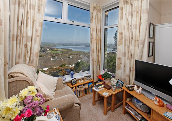 Enjoy views over the River Tamar