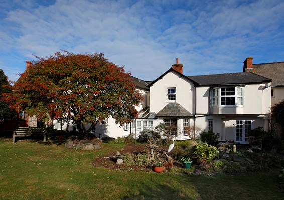 Welcome to The Laurels, a peaceful, friendly home in Porlock